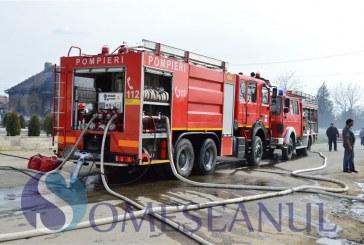 Zi de foc pentru pompierii Maramureșeni. Militarii au intervenit la 6 situații de urgență