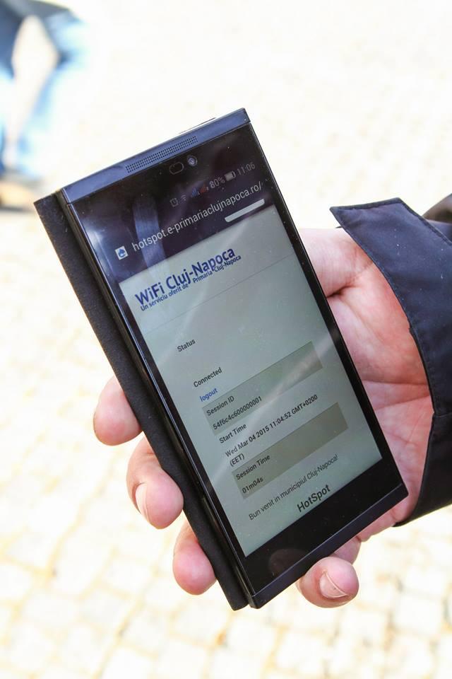 internet wifi gratuit in centrul Clujului