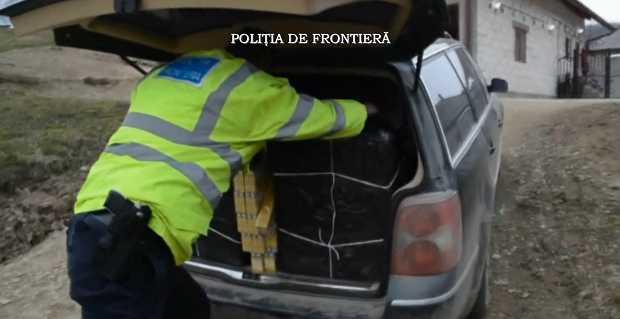 politia frontiera trafic tigari