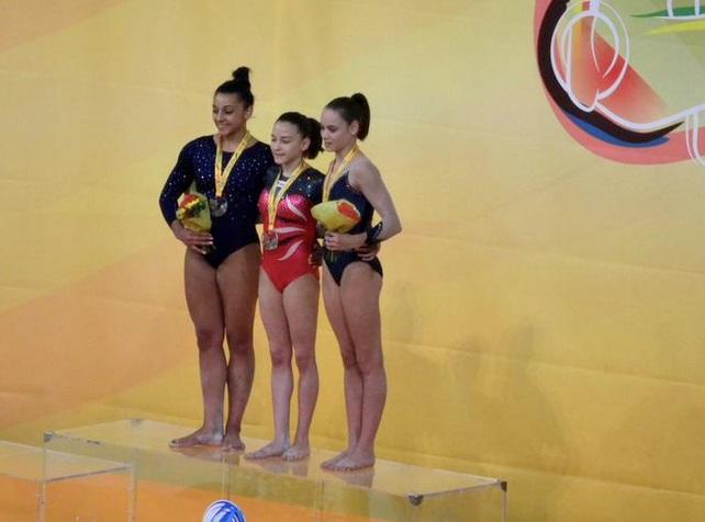 Andreea Munteanu campioana europeana la barna