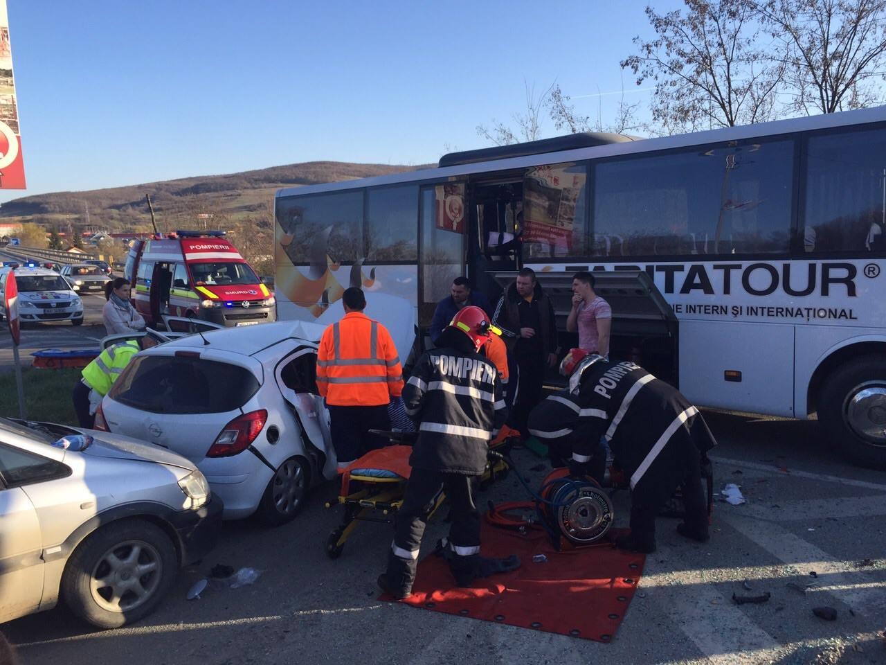 accident autocar beclean