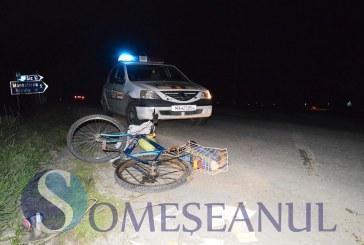 Băiețel de 8 ani accidentat la Cătina. Acesta a fost imediat transportat la spital