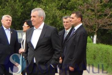 Șeful Senatului, în vizită la Dej, la Muzeul de locomotive – FOTO/VIDEO