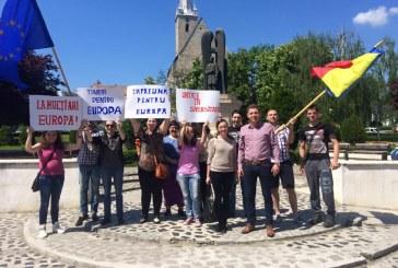 """""""Marș pentru Europa"""", deviza sub care TSD Dej a sărbătorit Ziua Europei – FOTO"""