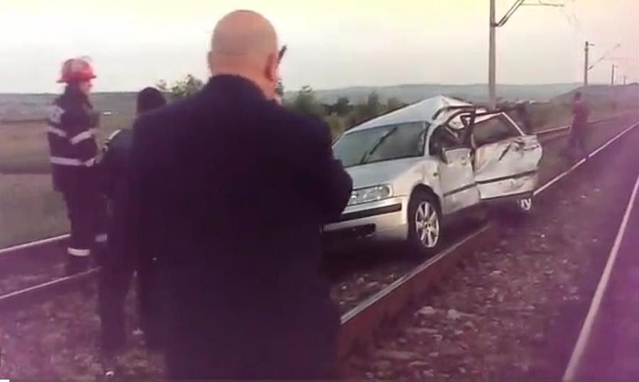 accident feroviar jucu