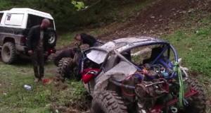accident mortal offroad somesu rece