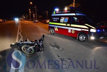 Implicat într-o autoaccidentare, în timp ce conducea un moped, sub influența alcoolului și fără permis