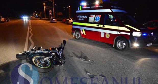 accident motocicleta gherla 1