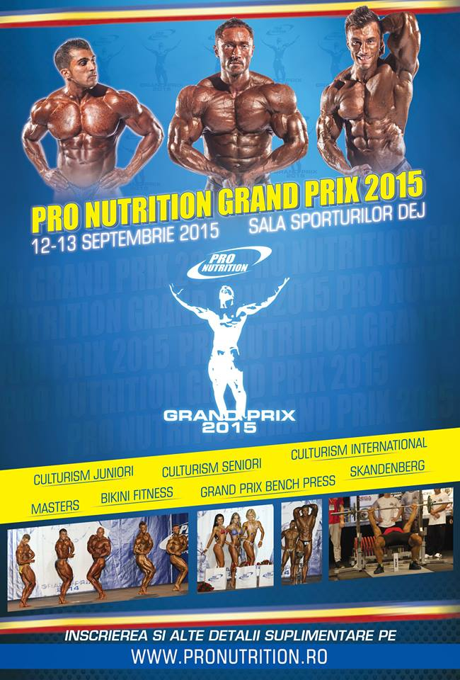 afis PRO NUTRITION GRAND PRIX 2015
