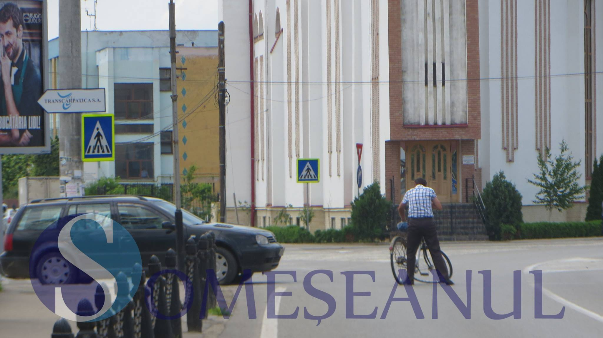 biciclist accidentat gherla