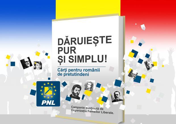campanie Daruieste pur si simplu PNL Dej