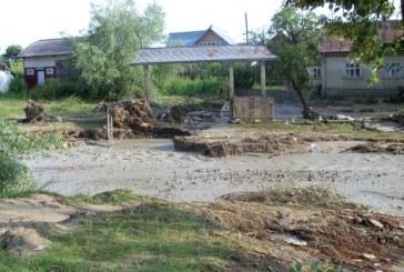 Șase localități din Maramureș afectate de inundații. Mai multe familii evacuate