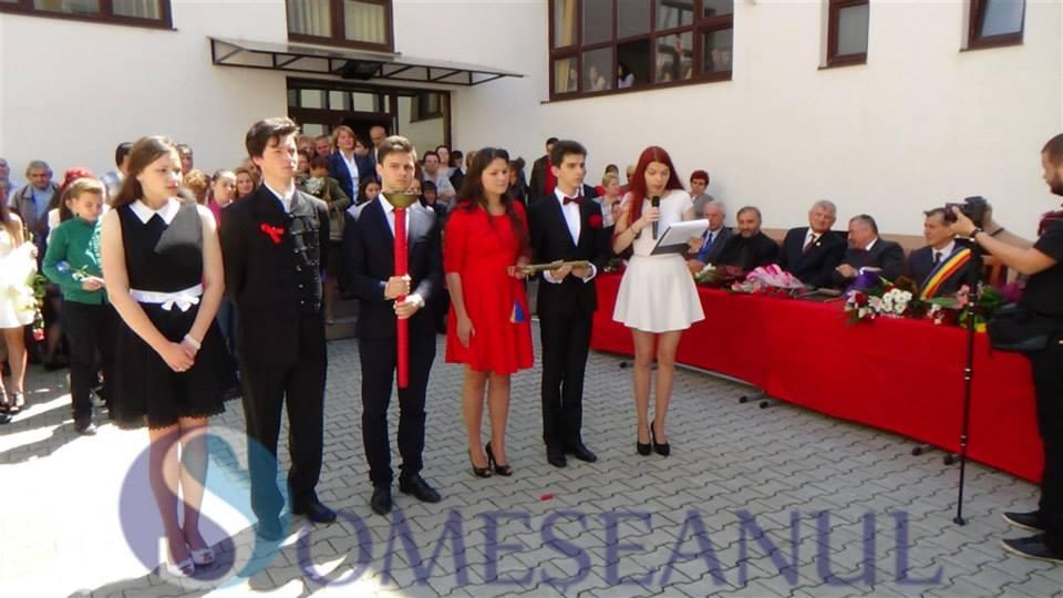 festivitate absolvire Andrei Muresanu Dej