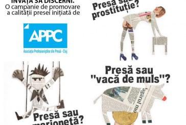 """Apel la luciditate făcut de presa clujeană: """"Învață să discerni!"""", campanie derulată de APPC"""