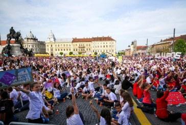 Recorduri la Zilele Clujului. Unul mondial, celălalt național – VIDEO