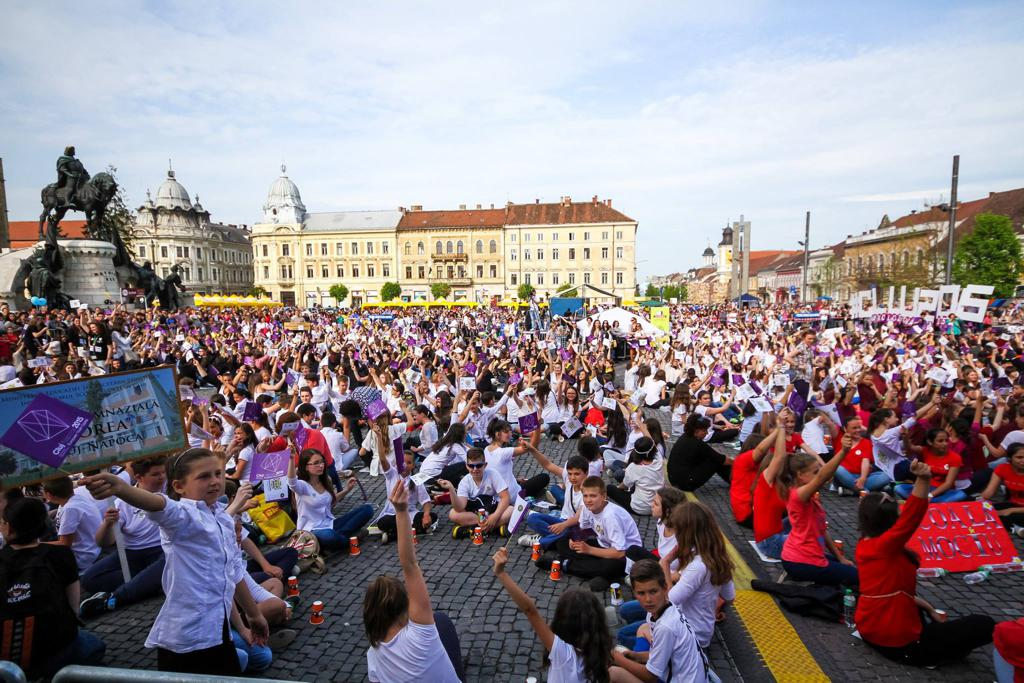 record cup song cluj