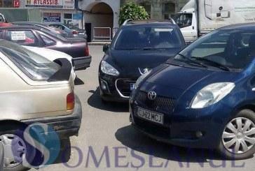 """""""Ai parcat ca un bou"""", la pătrat în Dej – FOTO"""