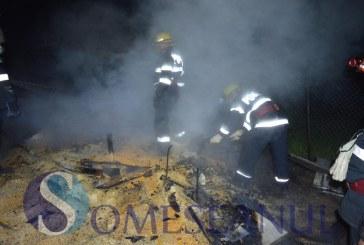 Incendiu la Nicula. Mai multe animale au ars de vii – FOTO/VIDEO