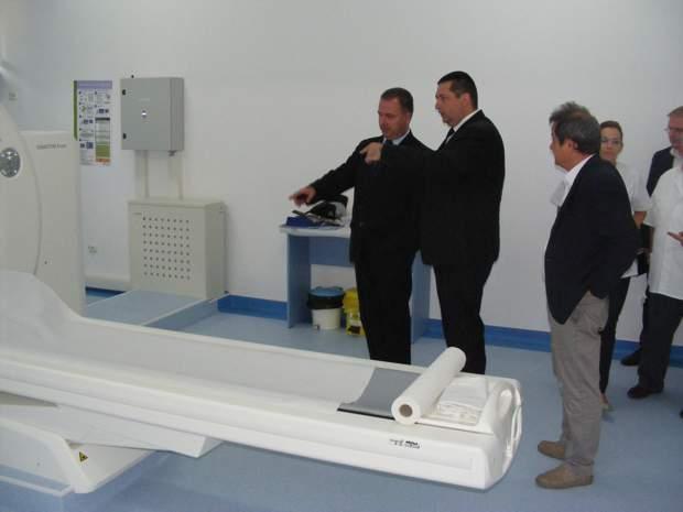Inaugurare tomograf Infectioase Cluj