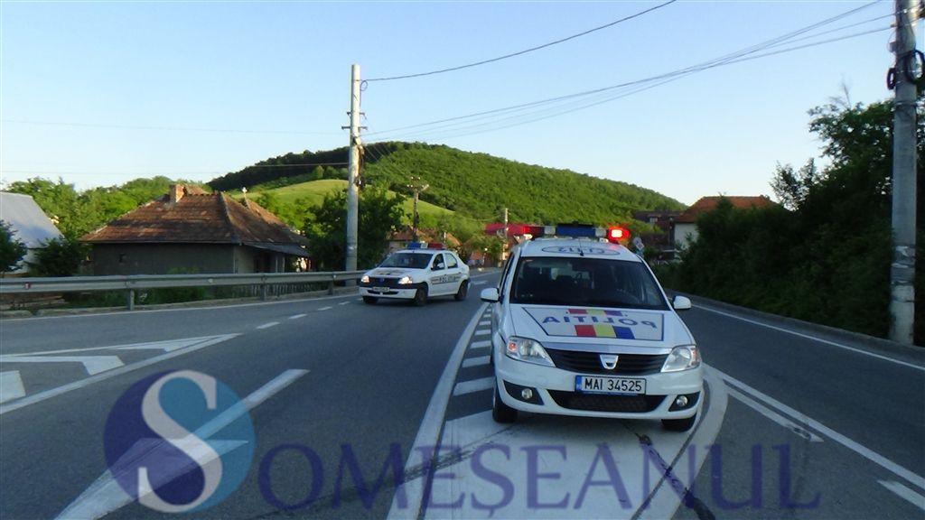 accident autoturism TIR Bunesti Gherla-someseanul (3)