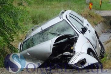 Accident rutier cu șofer neatent, petrecut la Dej