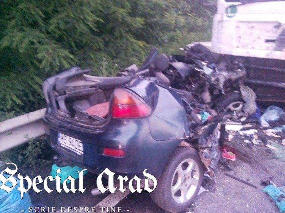 accident conop arad - 2