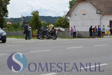 Motociclist implicat în accident la Iclod – FOTO