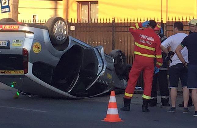 accident taxi floresti