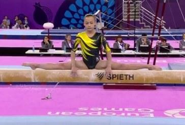 Trei medalii pentru gimnastica românească la Jocurile Europene de la Baku