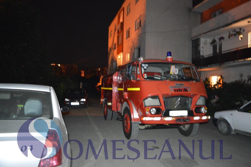 persoana blocata  gherla pompierii 2