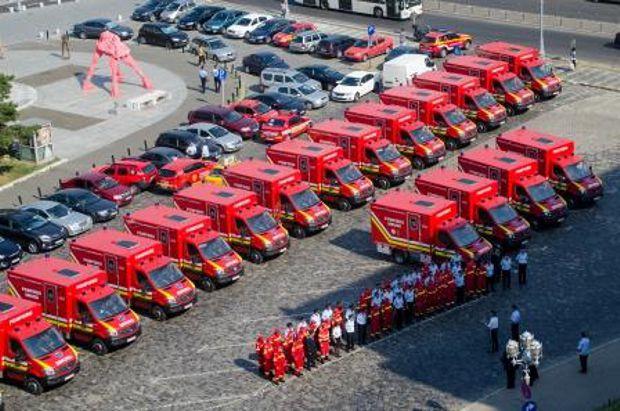 pompieri predare autospeciale accidente colective