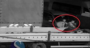 someseanul-hoti de motorina surprinsi la dej de camere supraveghere