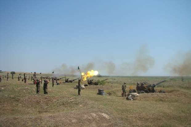 Batalionul 55 Aparare Antiaeriana Somes Dej militari-armata