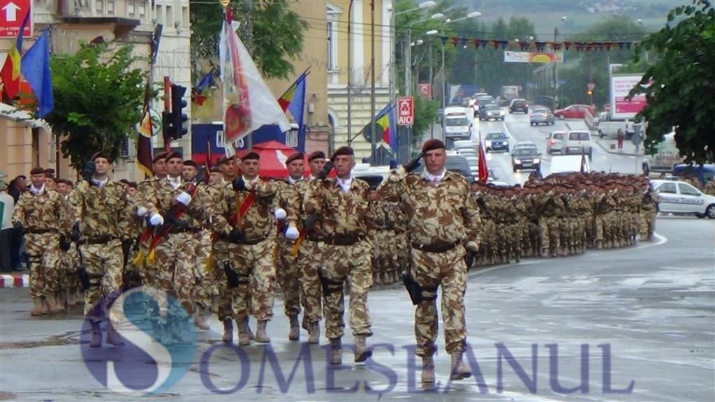 Ceremonie plecare Batalionul 811 Infanterie Dej in misiune in Afganistan