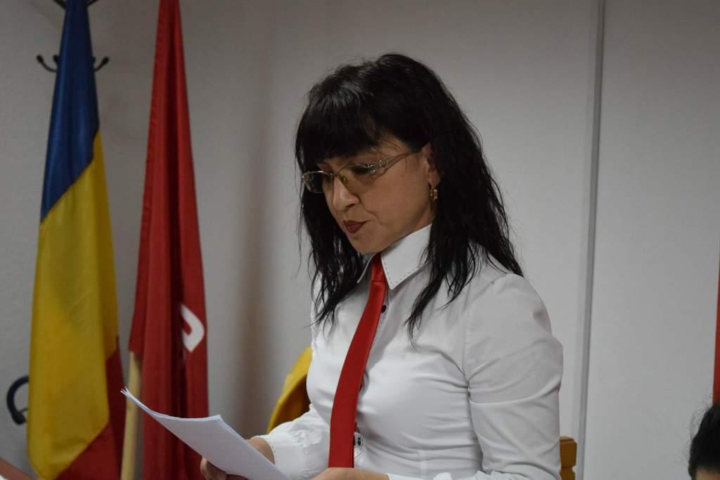 Dora Muncelean aleasa presedinte Femei PSD Dej (1)