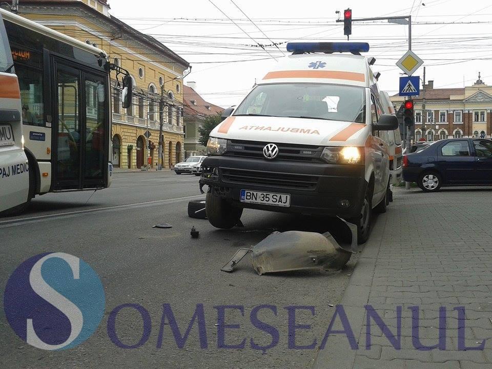 accident ambulanta cluj 1