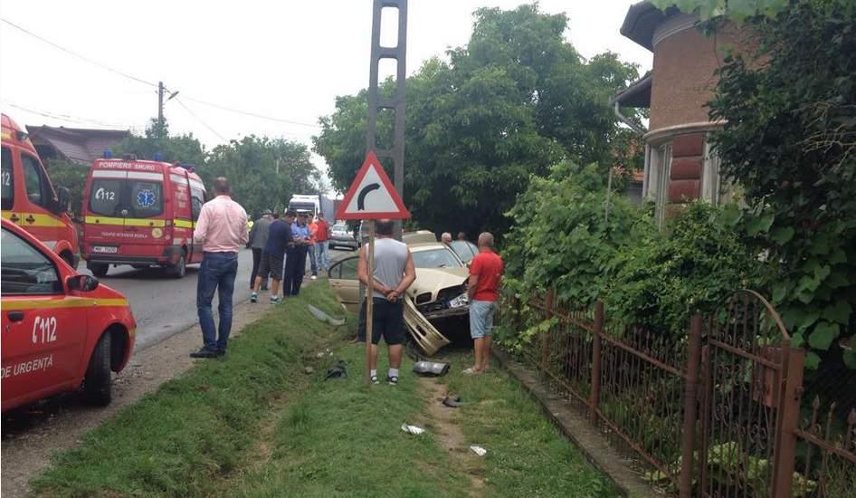 accident masina stalp Hideaga-2