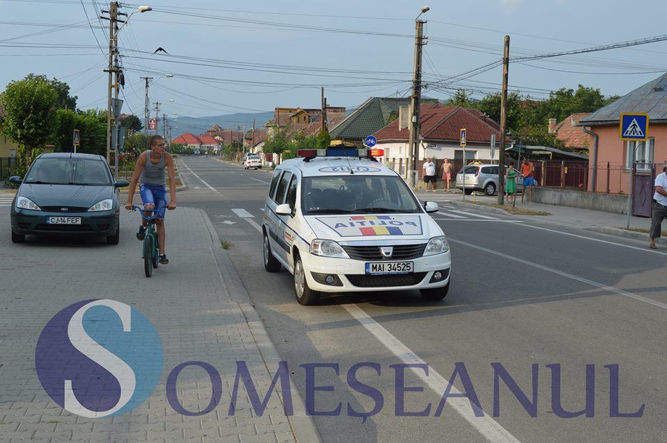 Bărbat din Gherla prins băut la volan pe strada Romană din localitate