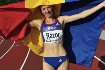 Clujeanca Bianca Răzor, campioană europeană de tineret la 400 m