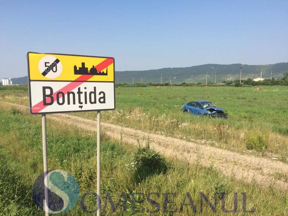 someseanul-accident autoturism rasturnat bontida (2)