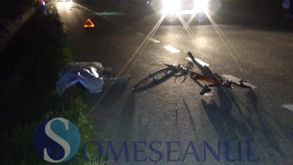 someseanul-biciclist accidentat mortal la Dej