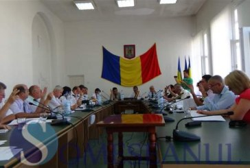 Faza zilei la ședința Consiliului Local Dej. Toată lumea s-a prăpădit de râs