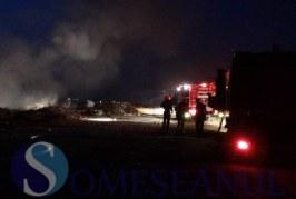 Incendiu devastator în Lelești. Pompierii au descoperit cadavrul carbonizat al unui bărbat