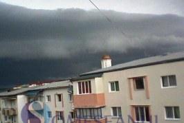 Cod galben de vânt și grindină în Maramureș și Bistrița-Năsăud