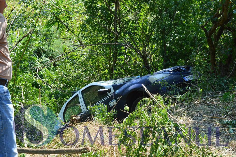 accident taximetru Bunesti-2