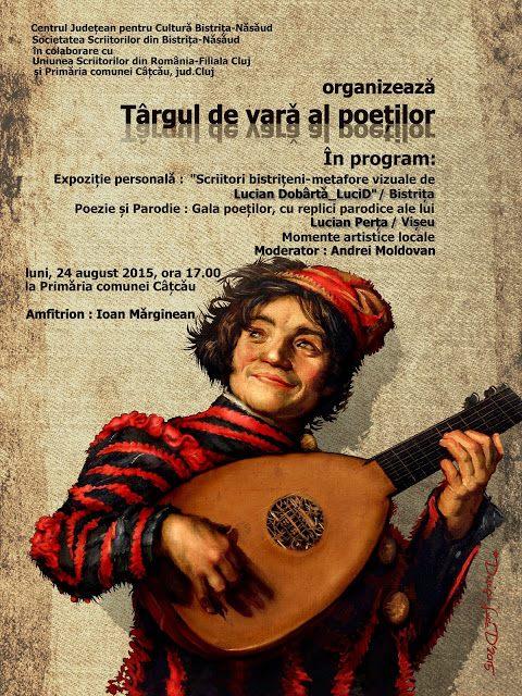 Targul de vara al poetilor Catcau