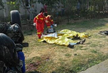 FOTO – Carnagiu pe șosea. Șase morți în urma unui accident în Ardud