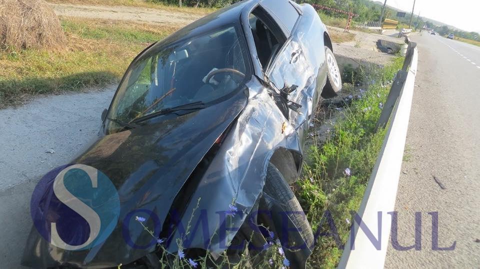 accident rasturnat livada
