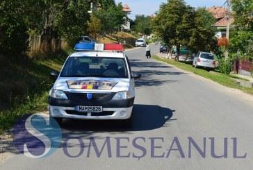 Bărbat din Sic prins la volanul unui autoturism neînmatriculat