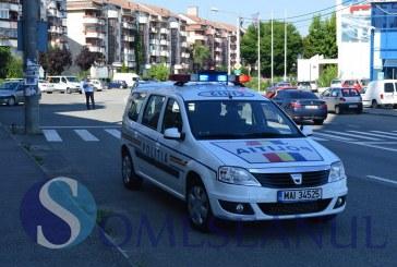 Femeie accidentată pe o trecere de pietoni, de pe strada Clujului din Gherla